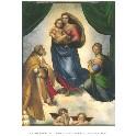 Kunsttryk - Den sixtinske Madonna