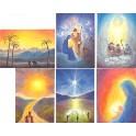 Jul - 6 forskellige kort