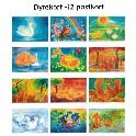 Dyrekort - 12 kort