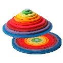Koncentriske cirkler og ringe