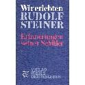 Wir erlebten Rudolf Steiner -Erinnerungen seiner Schüler
