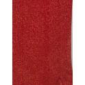 Filt af øko. uld, rustrød - plantefarvet