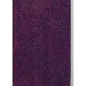 Filt af øko. uld, lilla - plantefarvet