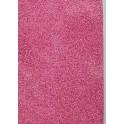 Filt af øko. uld, pink - plantefarvet