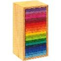 Klodser i kasse, farvede - 60 stk.- tårn