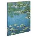 Blank notesbog - Monet-vandliljer