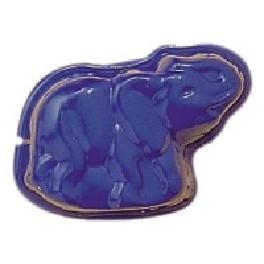 Sandform, elefant, blå