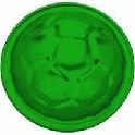 Sandform, bold, grøn