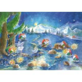Dværge - Julenat - med 37 låger