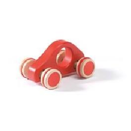 Bil, styrbar - rød