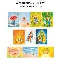 Børn gennem året - 10 kort