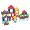 Byggeklodser, geometriske - 60 dele