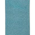 Filt af øko. uld, lys blå - plantefarvet