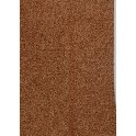 Filt af øko. uld, rødbrun - plantefarvet
