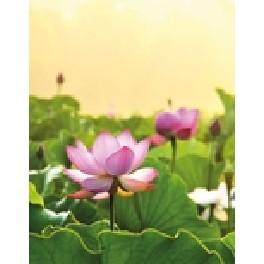 Blank notesbog - lotus