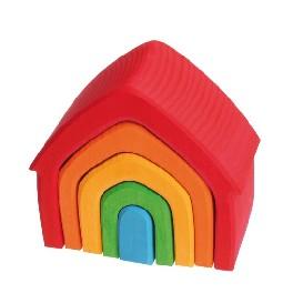 Farvede huse, 5 dele