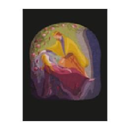 Transparentkort - Tornerose