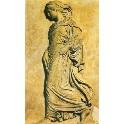 Kunsttryk - Schreitende Athena - græsk