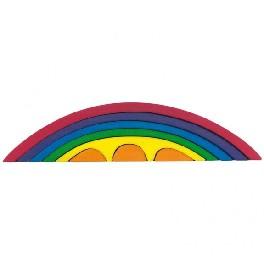 Bro-sæt, 8-delt - regnbue