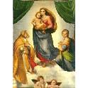 Dobbeltkort - Den Sixtinske Madonna