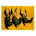 Dobbeltkort - Tre svævende engle
