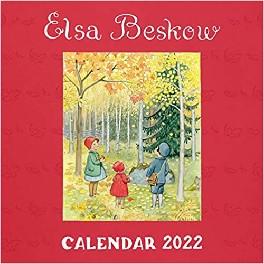 Elsa Beskow 2022-kalender - engelsk