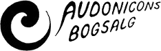 Audonicons Bogsalg